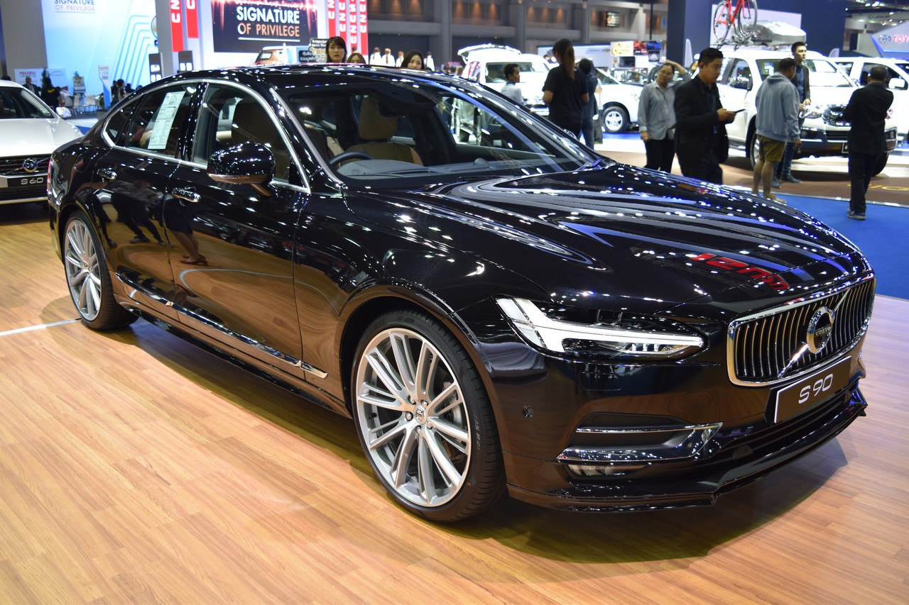 מדהים Volvo S90 showcased at BIMS 2017 XX-84