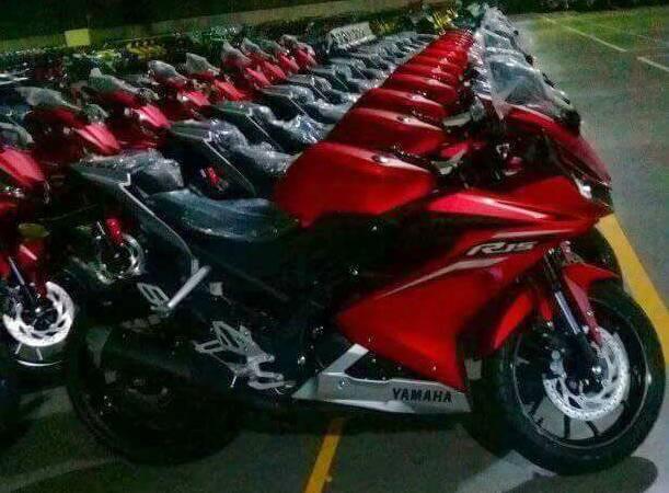 Yamaha R15 v3.0 production commences Matte Red