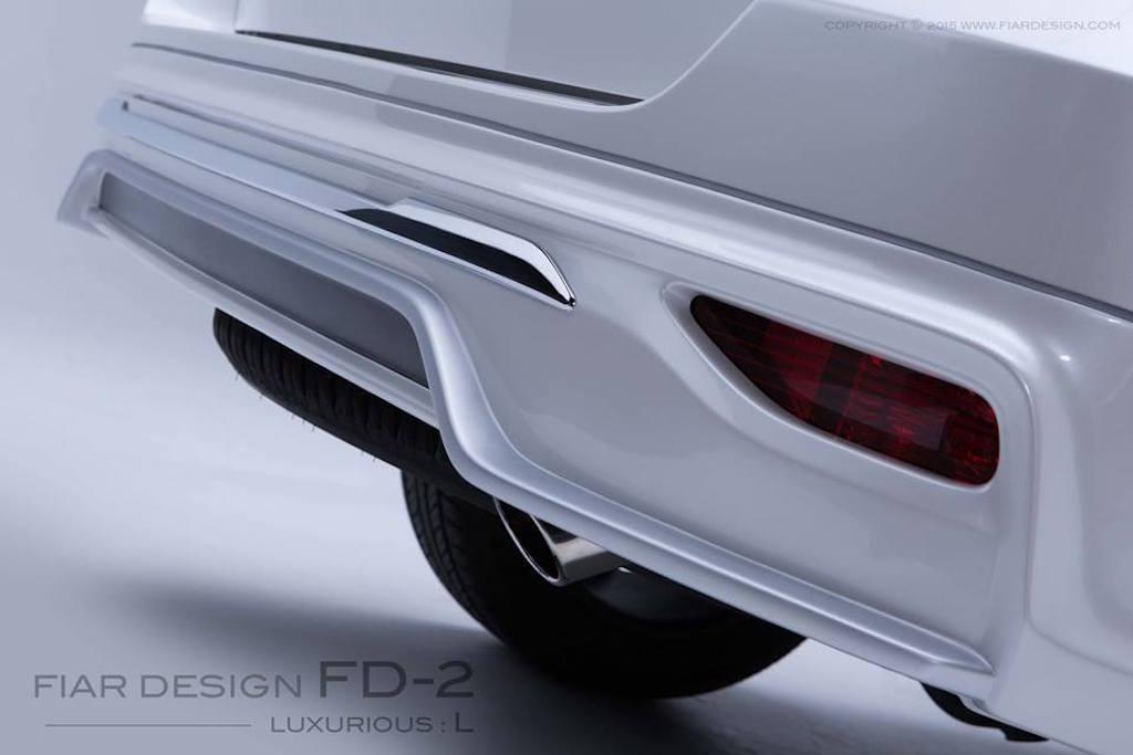 2016 Toyota Fortuner Fiar Design Body kit bumper Studio shots
