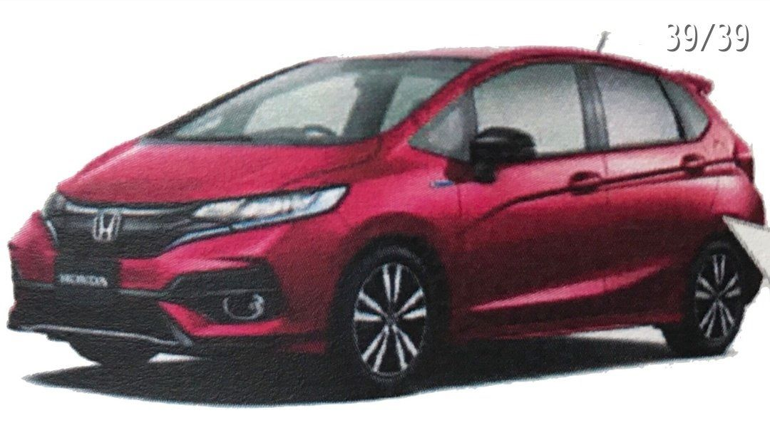 2017 Honda Jazz (2017 Honda Fit) front three quarters left side leaked image