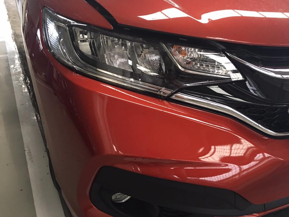 2017 Honda Jazz RS (facelift) headlamp In Images