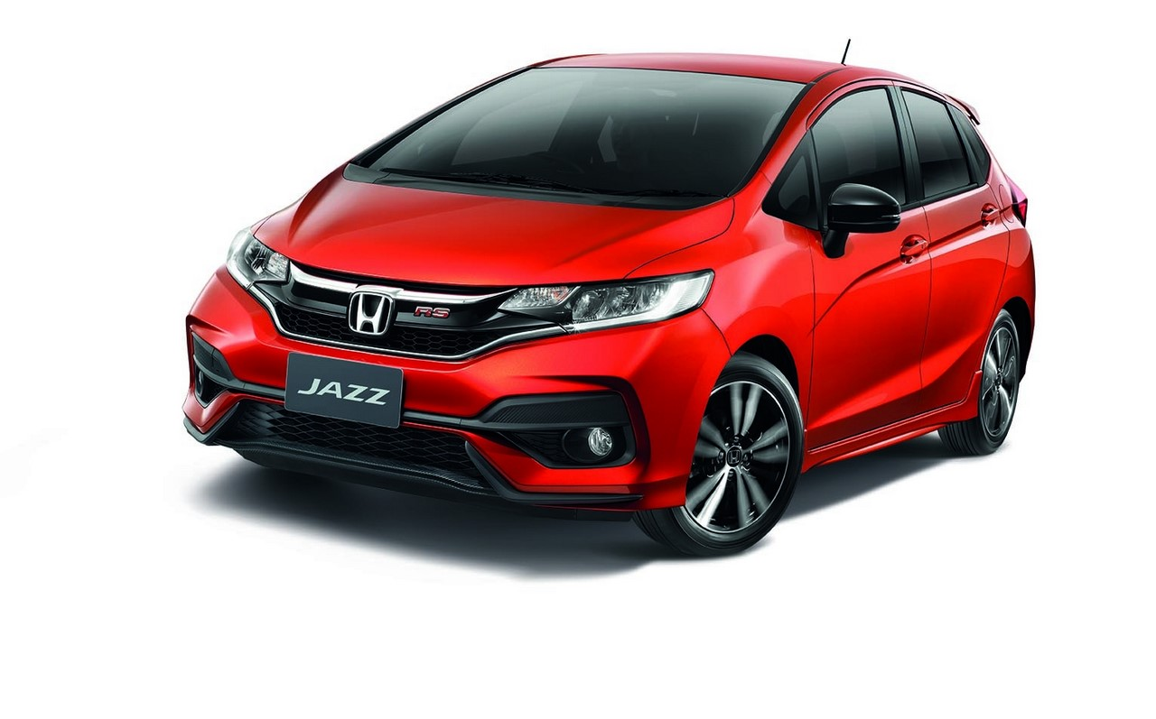 2017 honda jazz facelift launched in thailand 39 rs 39 variant debuts. Black Bedroom Furniture Sets. Home Design Ideas