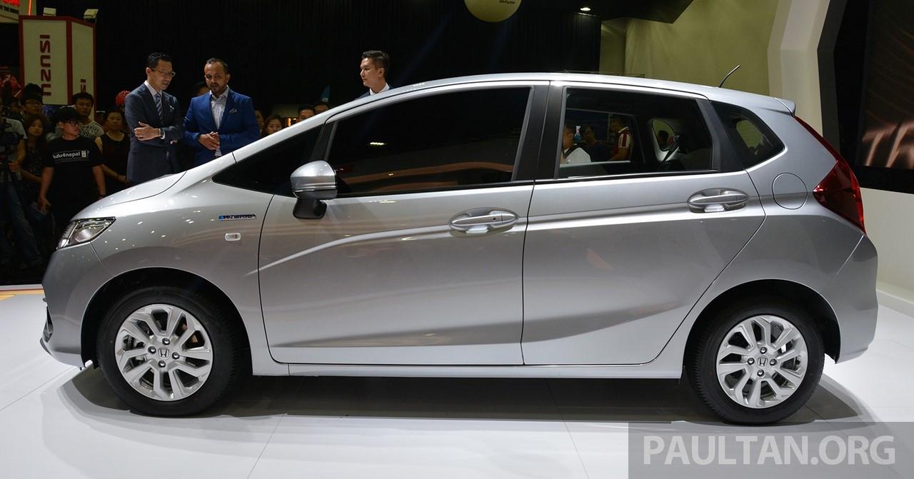 2017 Honda Jazz hybrid profile