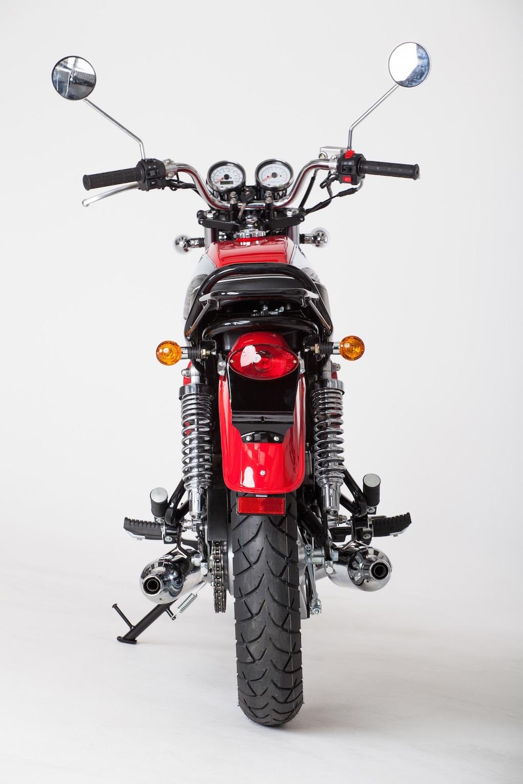 2017 Jawa 350 OHC rear