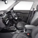 2017 Kia Soul (facelift) front seats