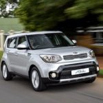 2017 Kia Soul (facelift) front three quaters in motion