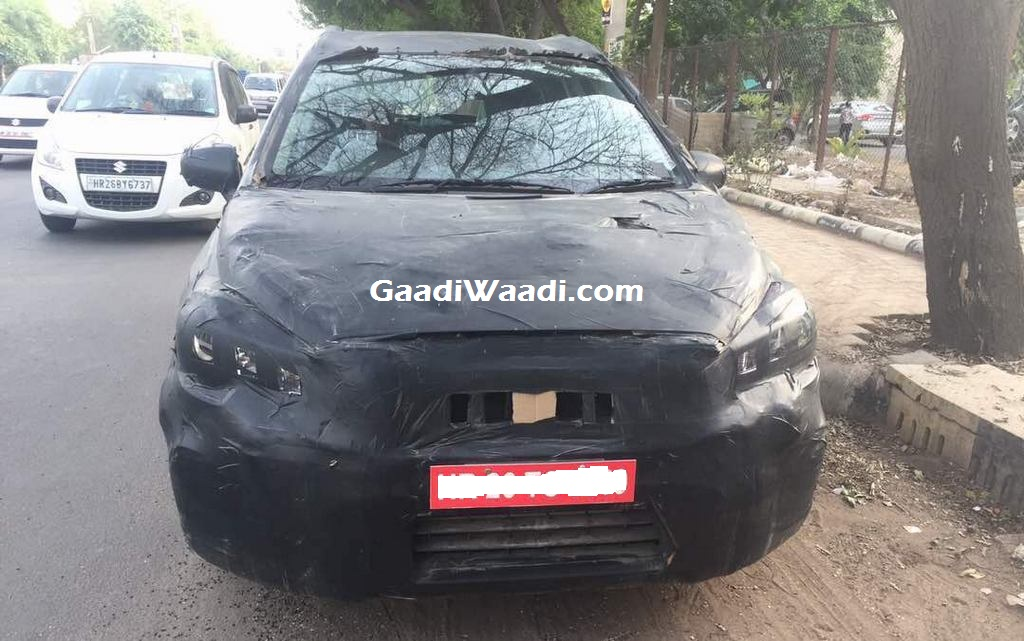 2017 Maruti S-Cross front spy shot India