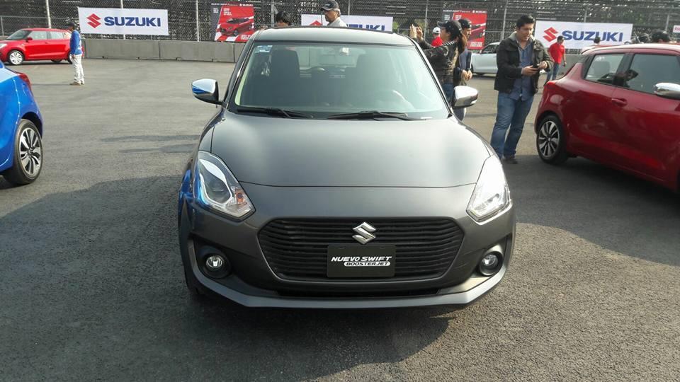 2017 Suzuki Swift front
