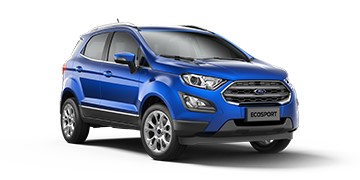 2018 Ford EcoSport (facelift) front three quarters Brazil