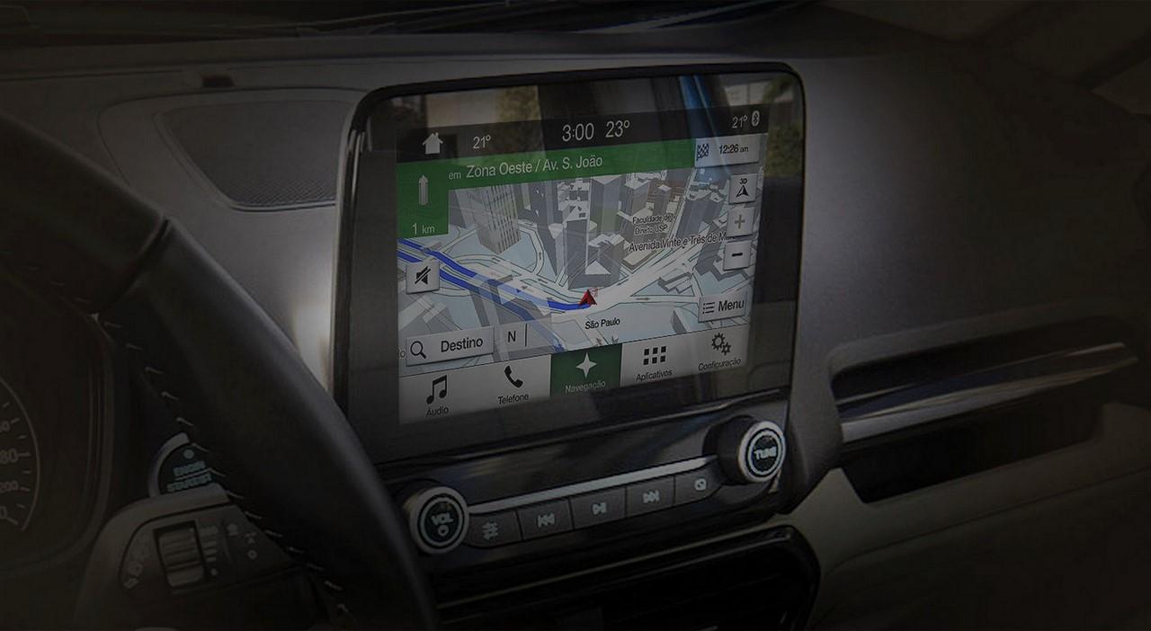 2018 Ford EcoSport (facelift) infotainment system Brazil
