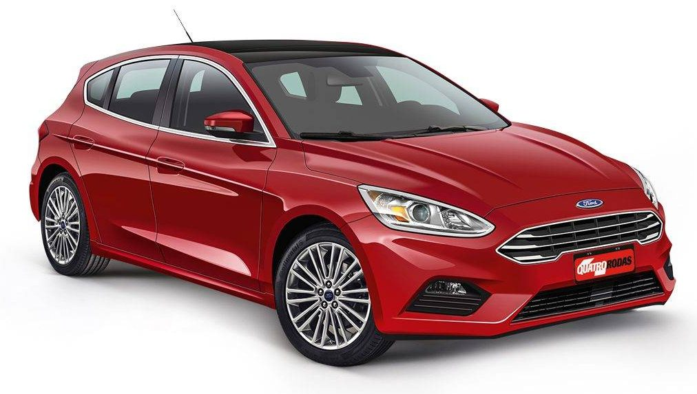 2018 Ford Focus rendering