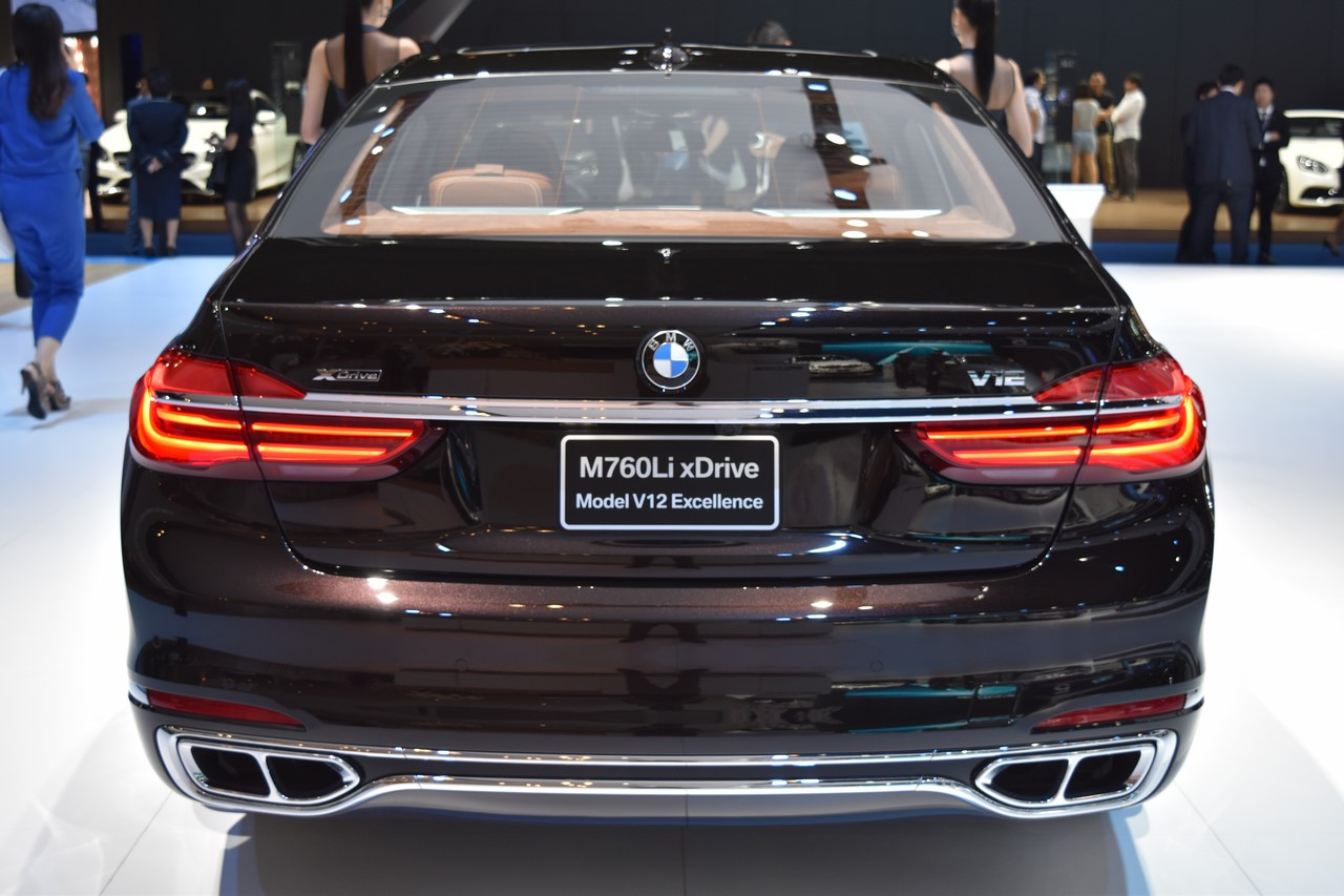 BMW 7 Series M760Li xDrive V12 Excellence rear at BIMS 2017