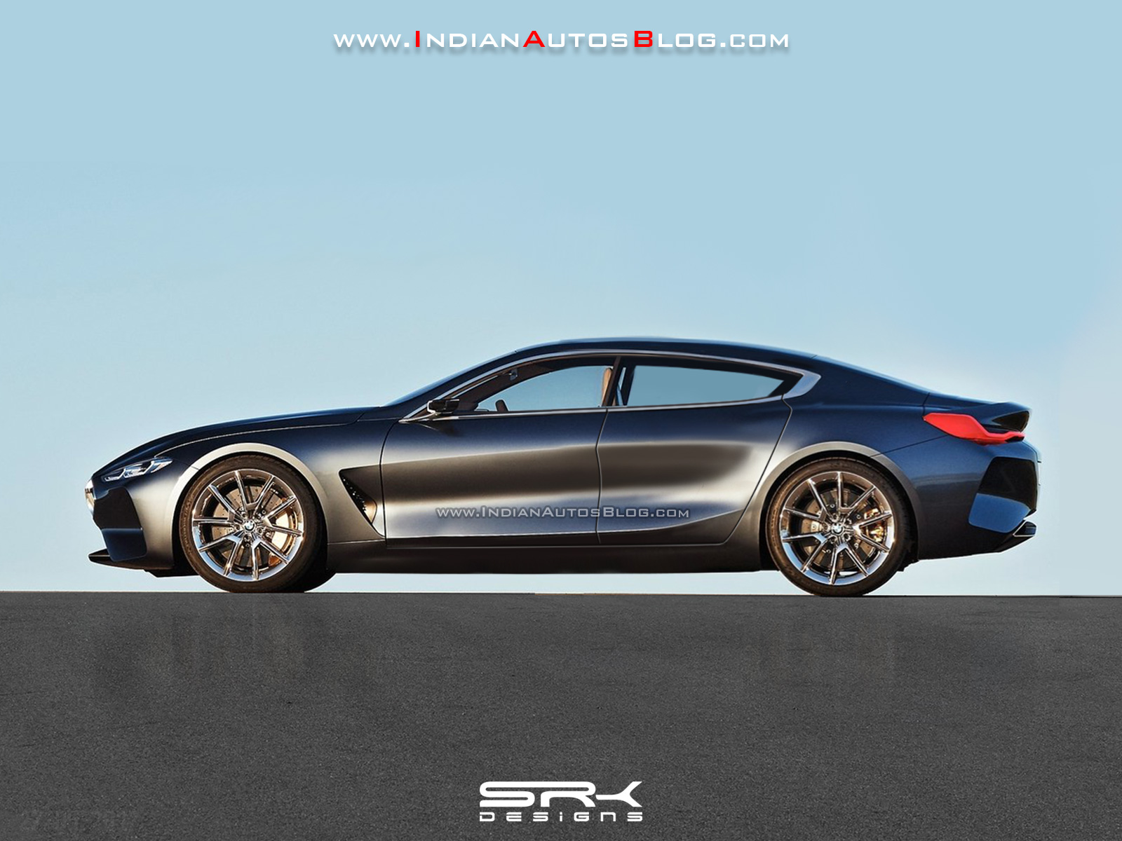 Bmw 8 Series Gran Coupe Rendering