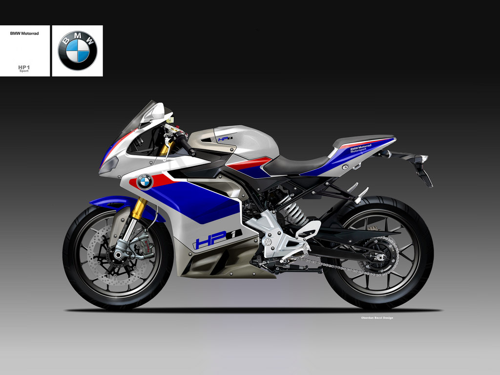 Bmw G310r Rendered As Fully Faired Cafe Racer Scrambler