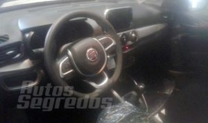 Fiat Argo 5-speed manual transmission variant interior