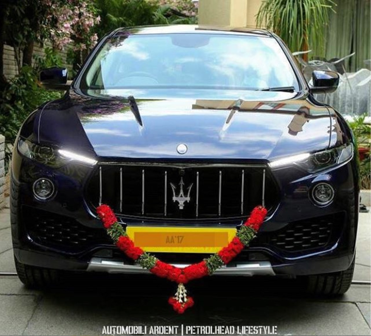 First Maserati Levante front snapped in Bengaluru