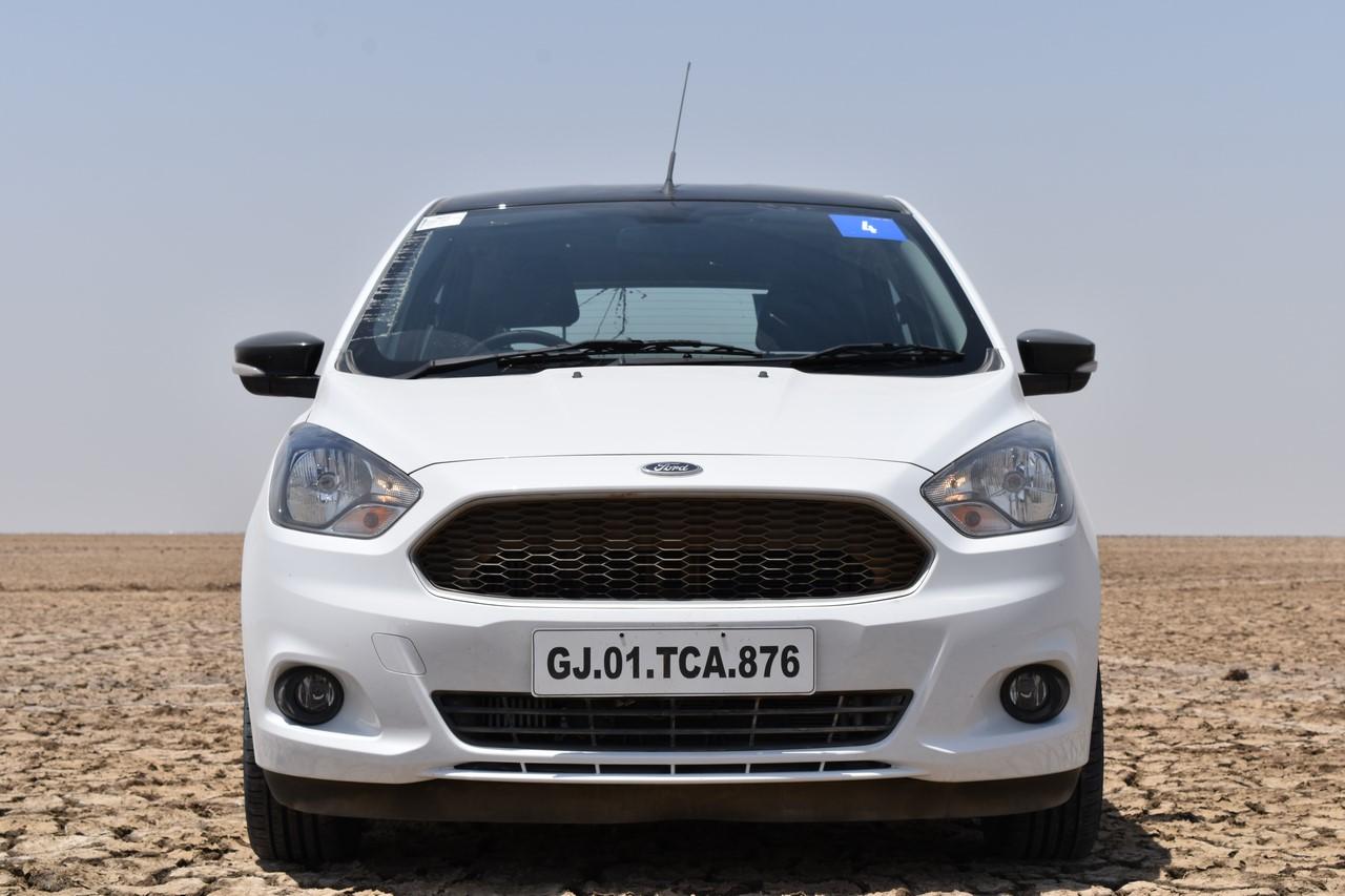 Ford Figo Sports Edition (Ford Figo S) front review
