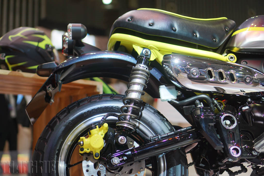 Honda Monkey 125 concept at 2017Vietnam Motorcycle Show rear suspension