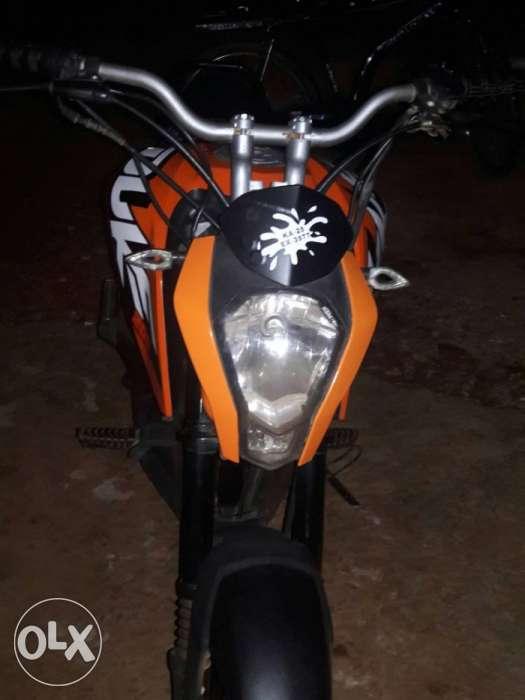 Honda Navi modified as KTM Duke 200 front