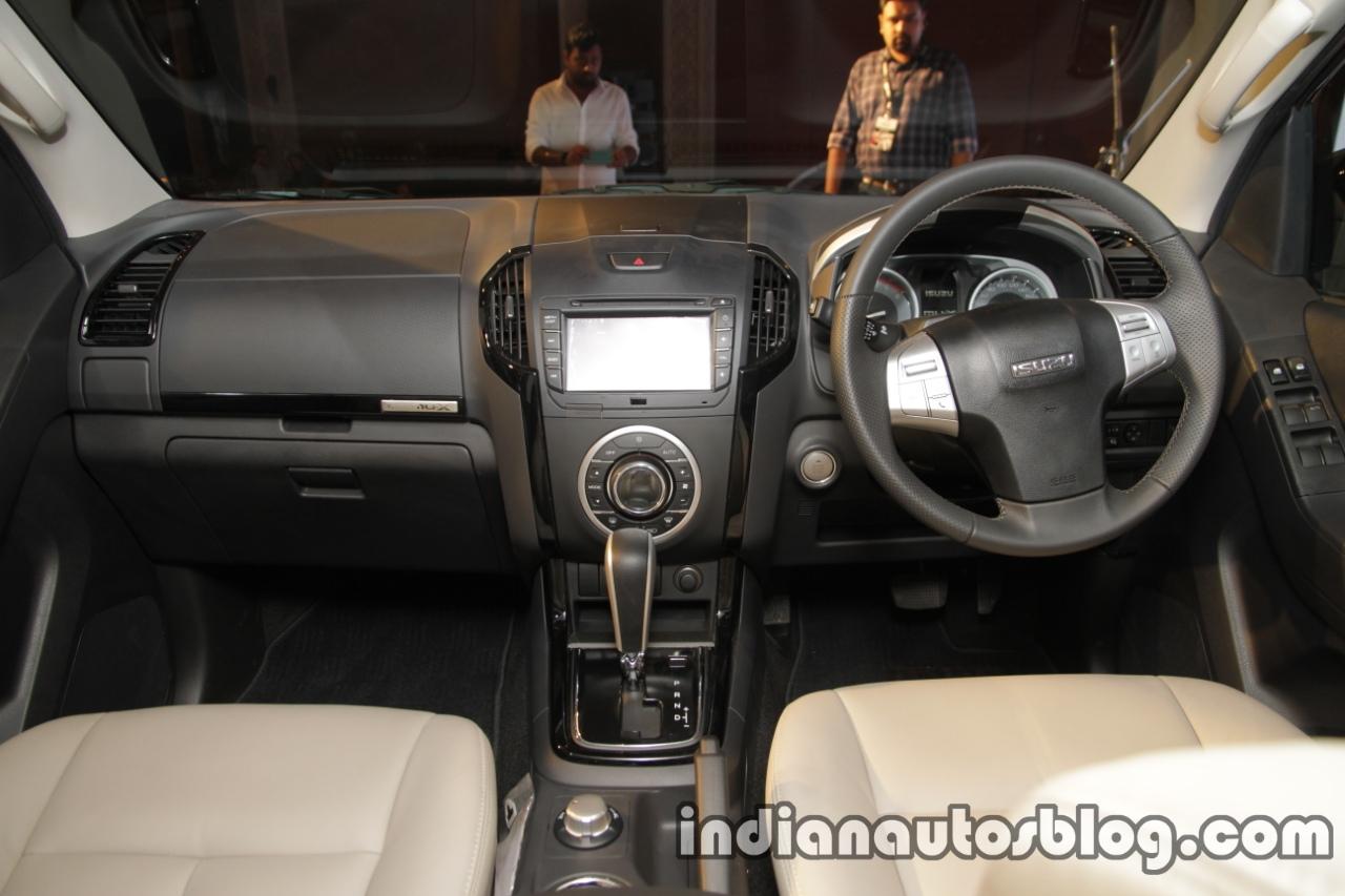 Isuzu MU-X dashboard launched in India image