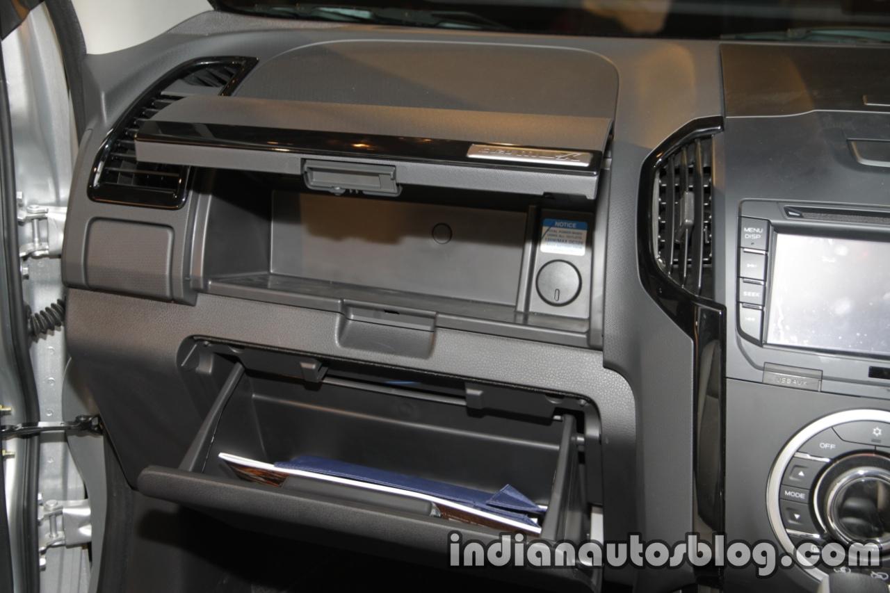 Isuzu MU-X glovebox launched in India image
