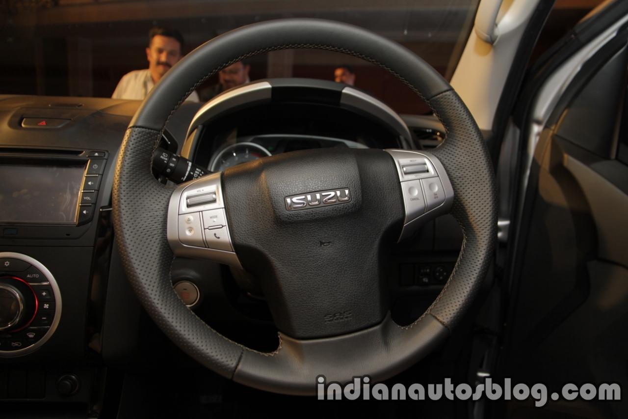 Isuzu MU-X steering wheel launched in India image