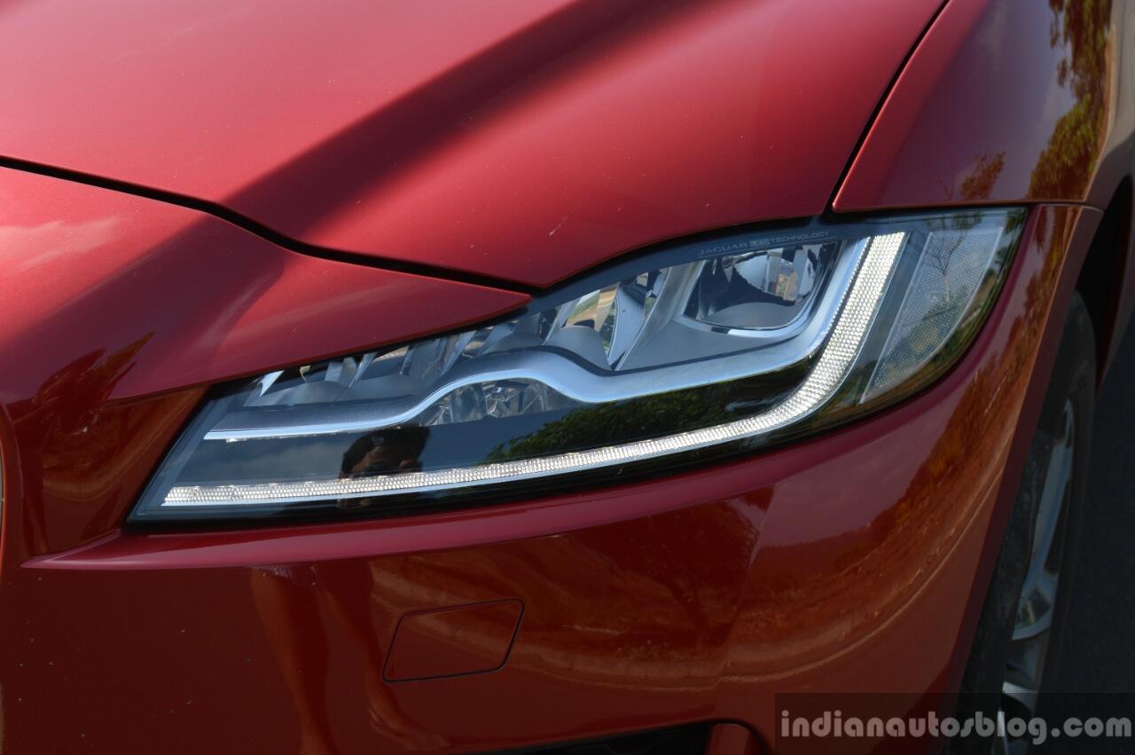 Jaguar F-Pace R-Sport SUV headlamp Review
