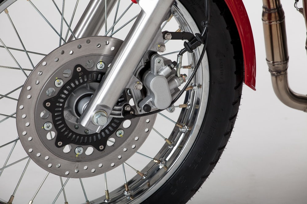 Jawa 350 OHC four-stroke front disc