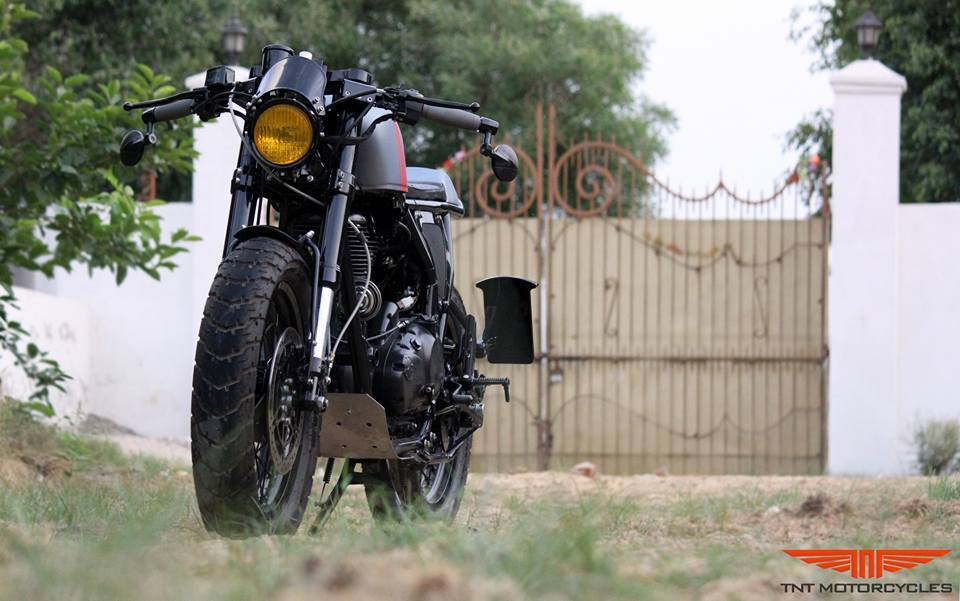 Royal Enfield Continental GT Grey Hound by TNT Motorcycles front