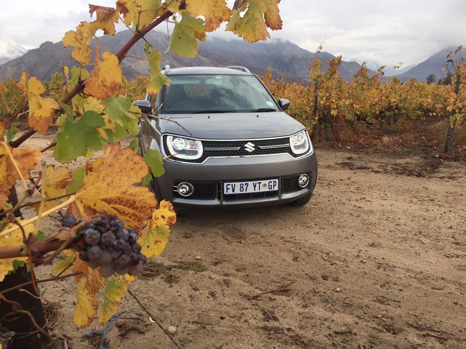South African-spec Suzuki Ignis exterior
