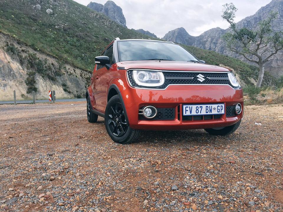 South African-spec Suzuki Ignis front three quarters left side