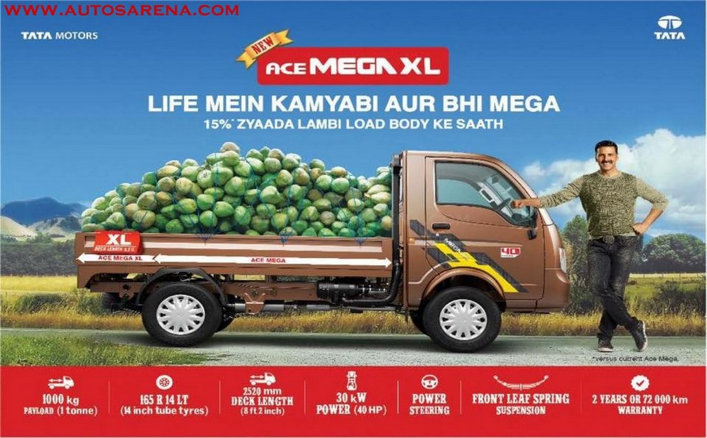 Tata Ace Mega XL brochure leaked ahead of launch