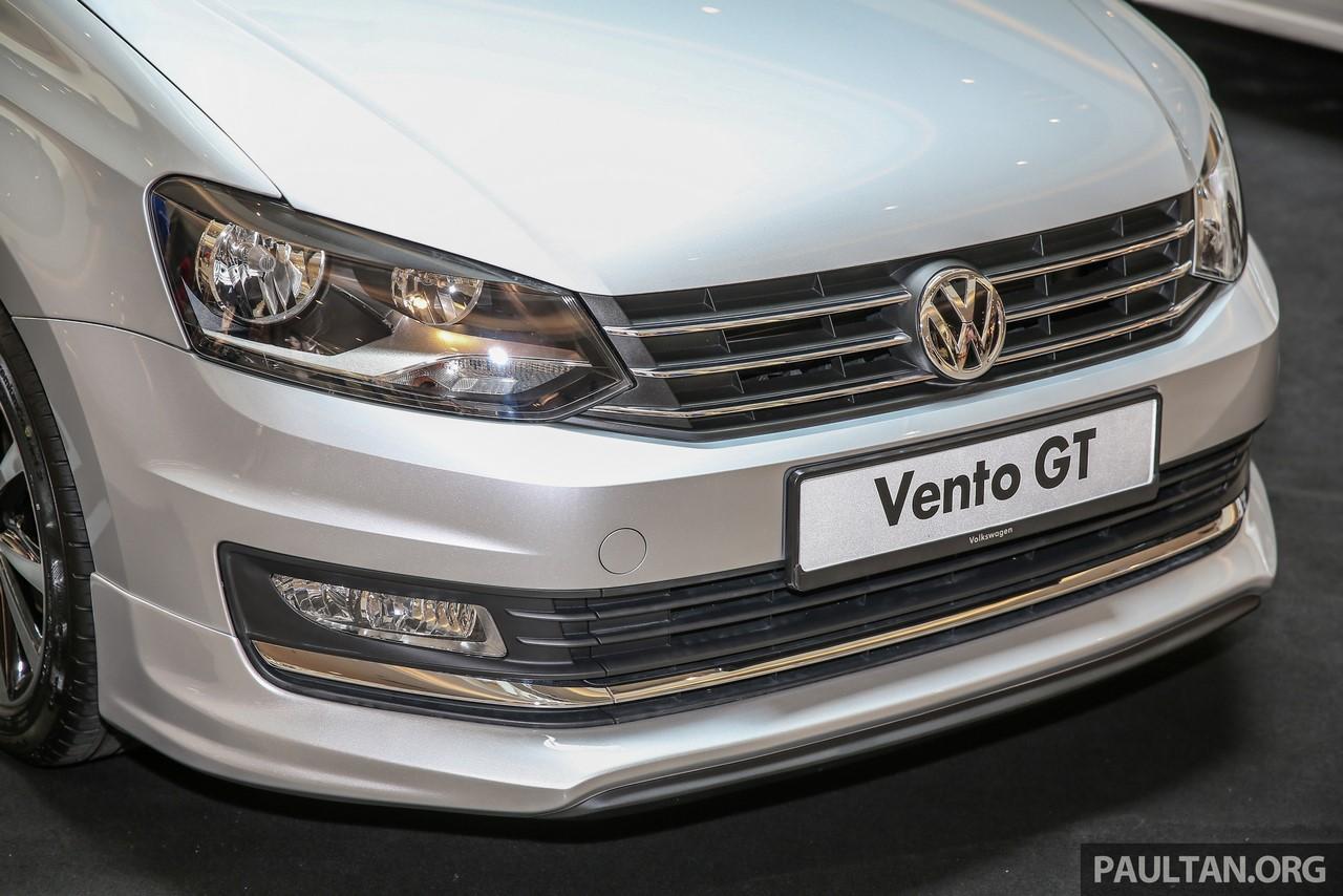 VW Vento GT front fascia