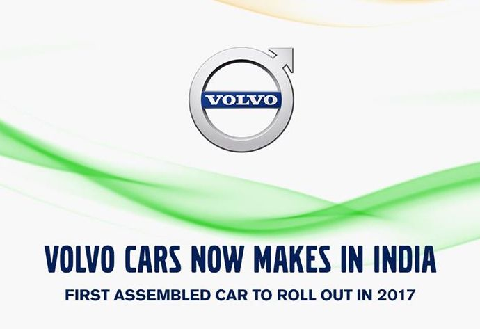 Volvo Cars announces local assembly plans