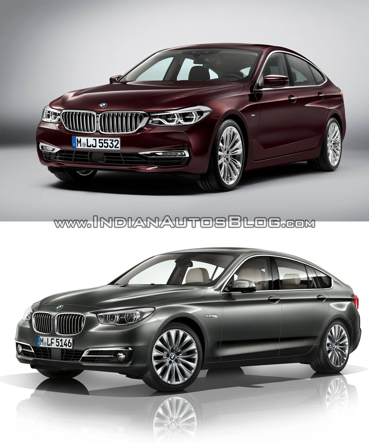 bmw 6 series gt vs bmw 5 series gt old vs new. Black Bedroom Furniture Sets. Home Design Ideas