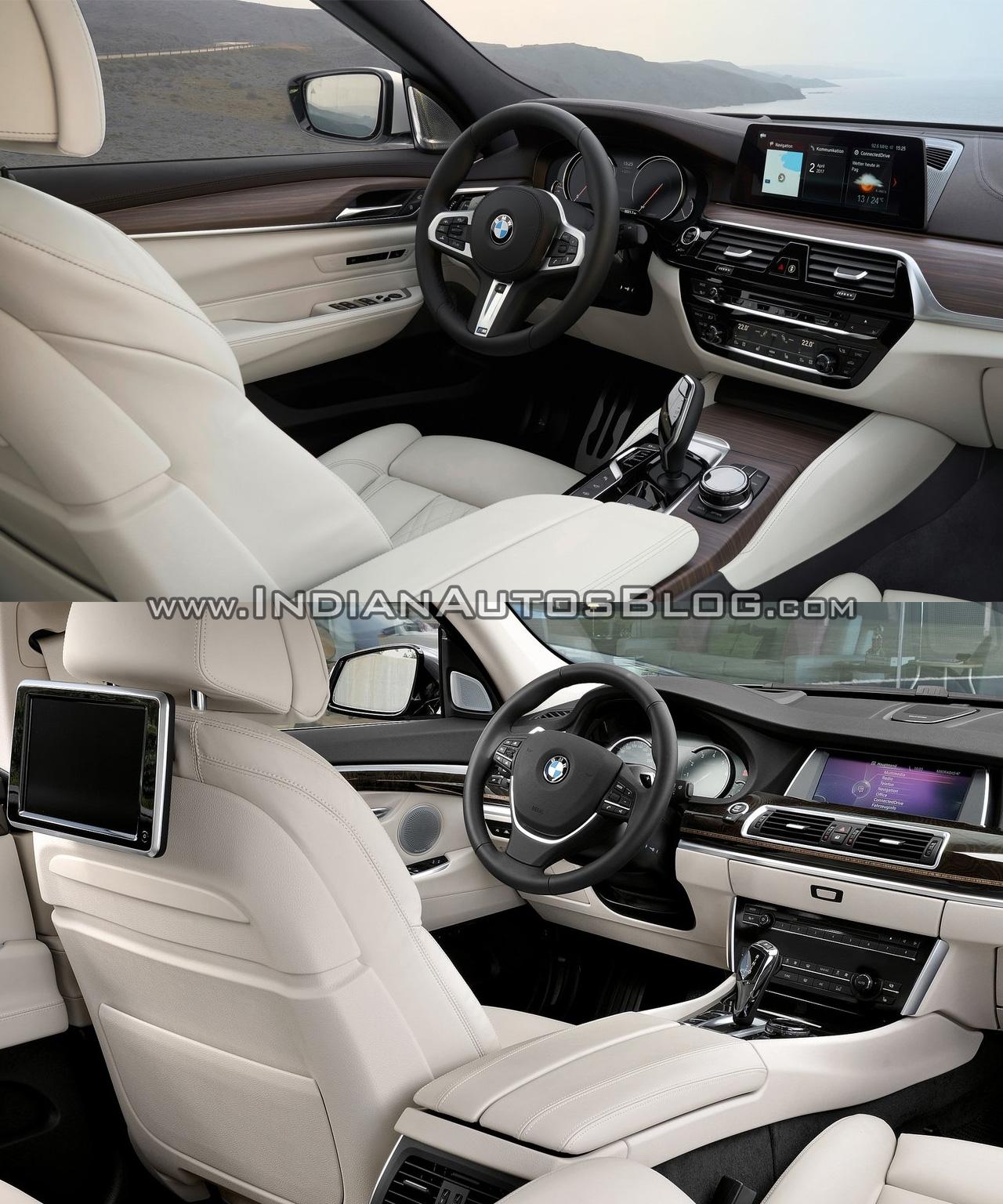 Bmw 6 Series Gt Vs Bmw 5 Series Gt: 2017 BMW 6 Series GT Vs. BMW 5 Series GT Interior