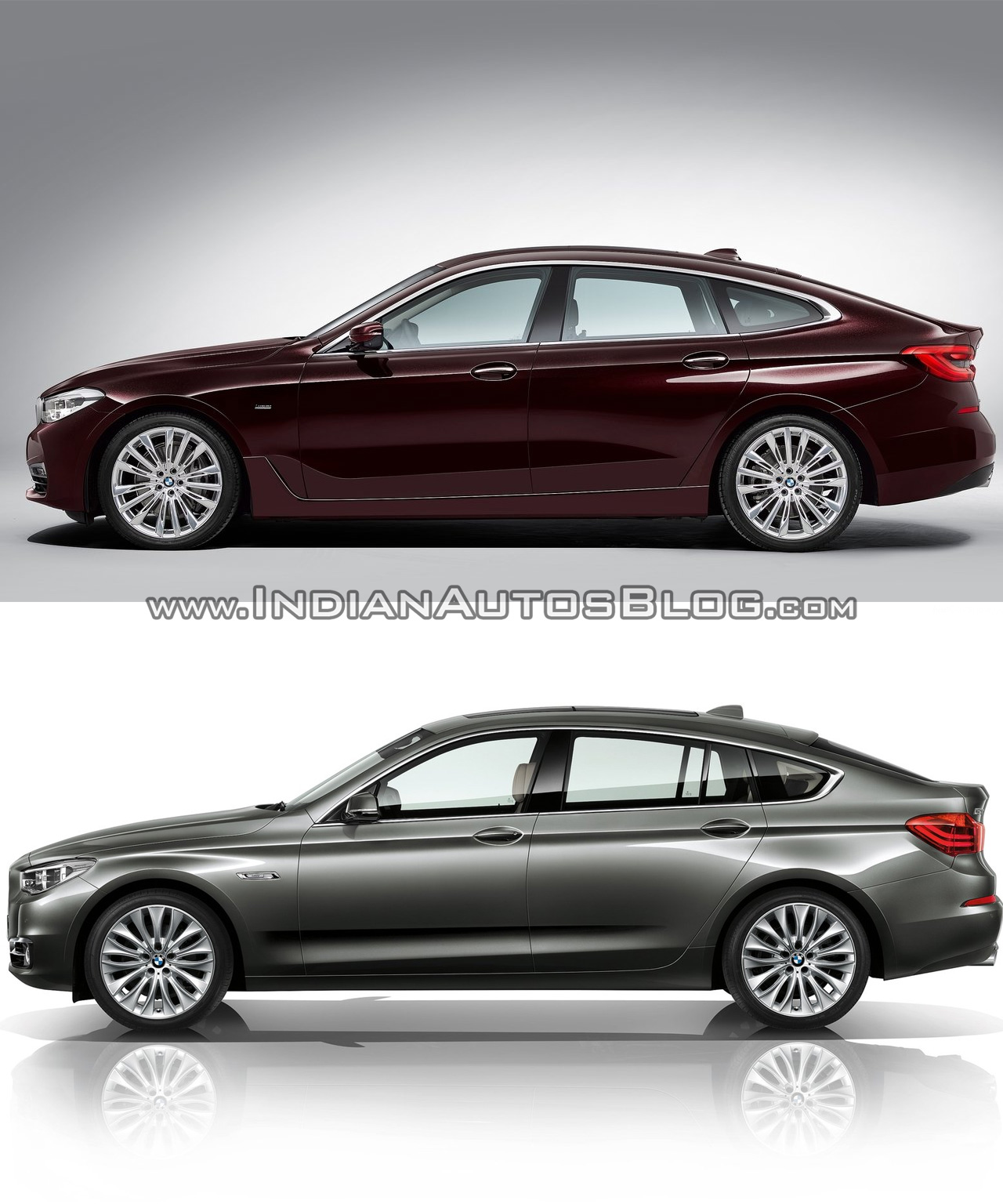 2017 bmw 6 series gt vs bmw 5 series gt profile. Black Bedroom Furniture Sets. Home Design Ideas