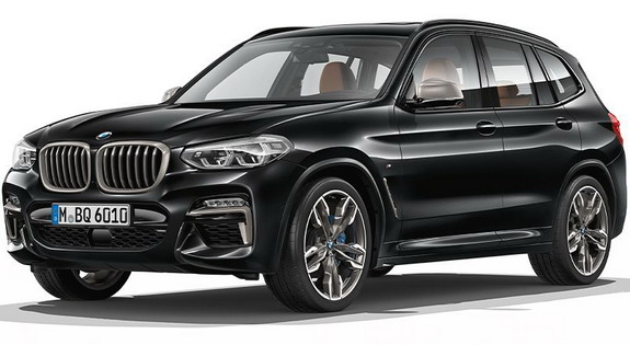 2017 BMW X3 front three quarters leaked image