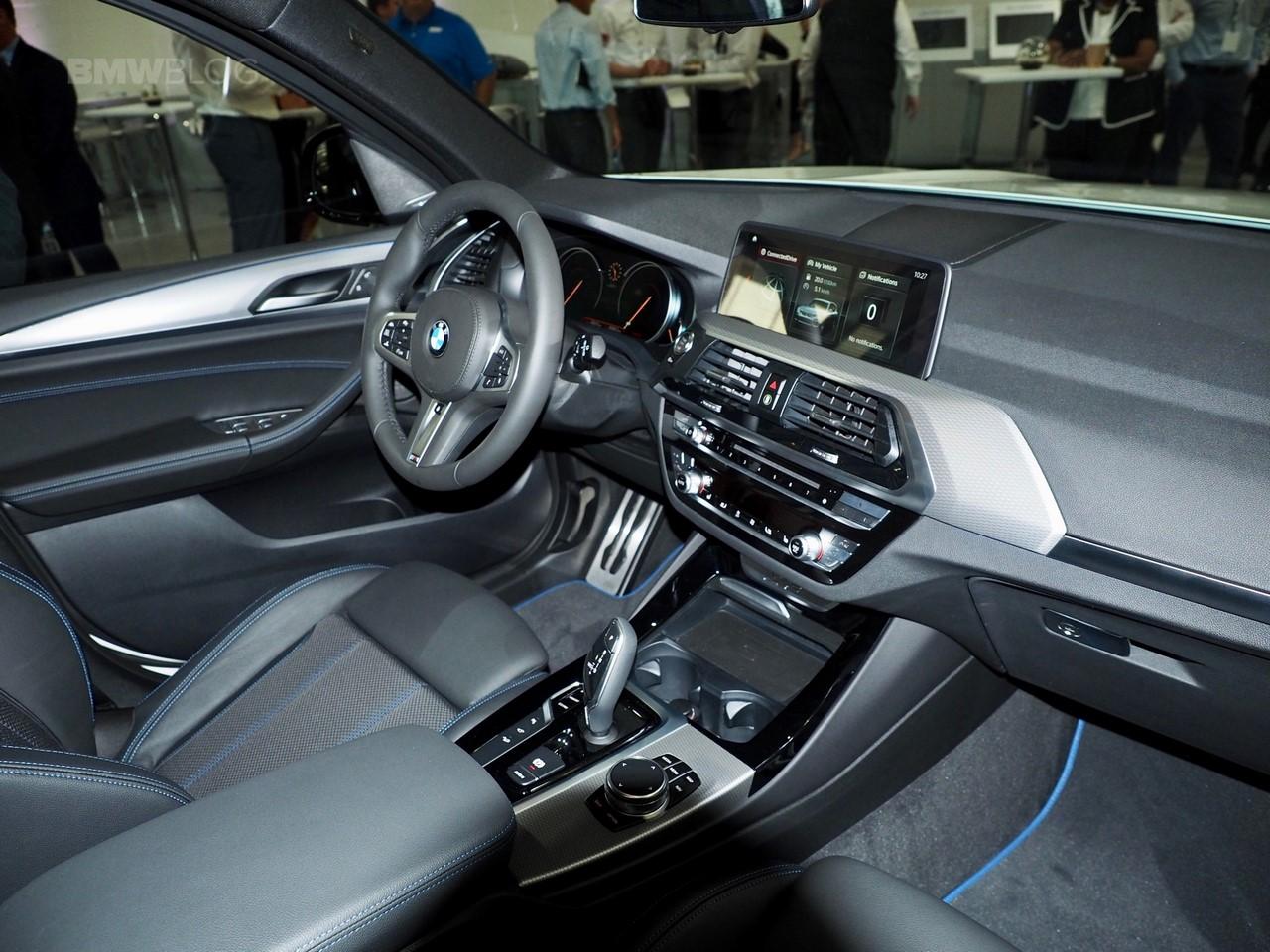 Bmw X3 G01 >> 2017 BMW X3 xDrive30d interior