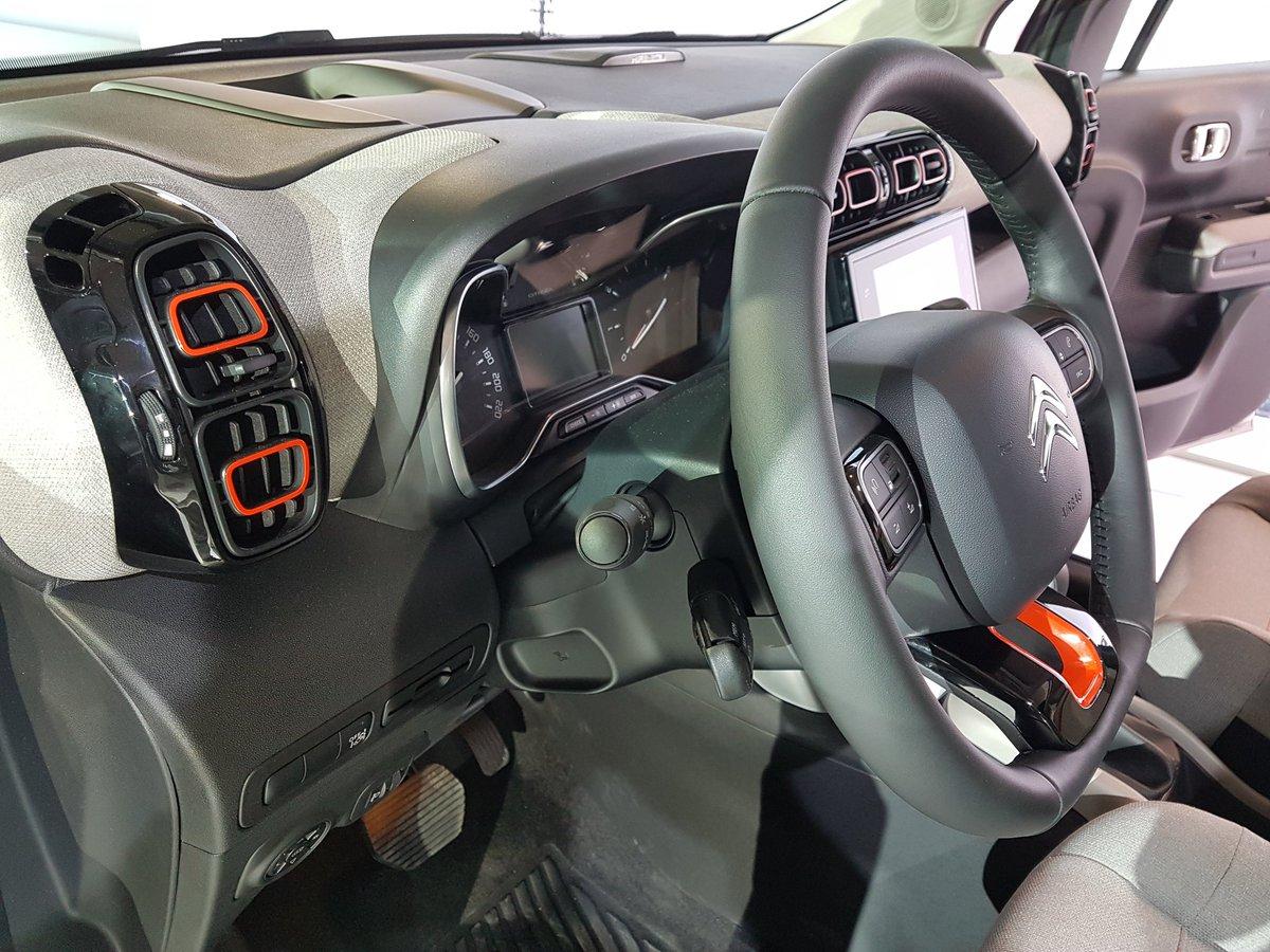 2017 Citroen C3 Aircross Interior