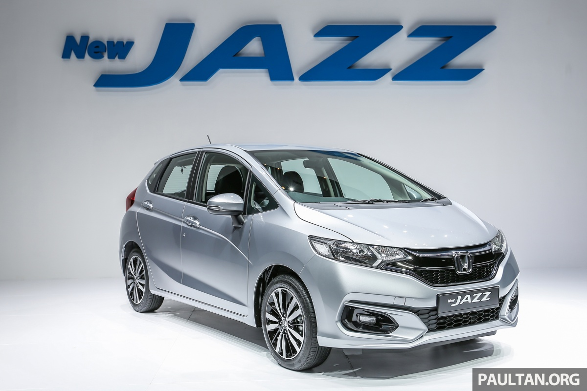 india bound honda jazz facelift launched in malaysia in 18 images. Black Bedroom Furniture Sets. Home Design Ideas