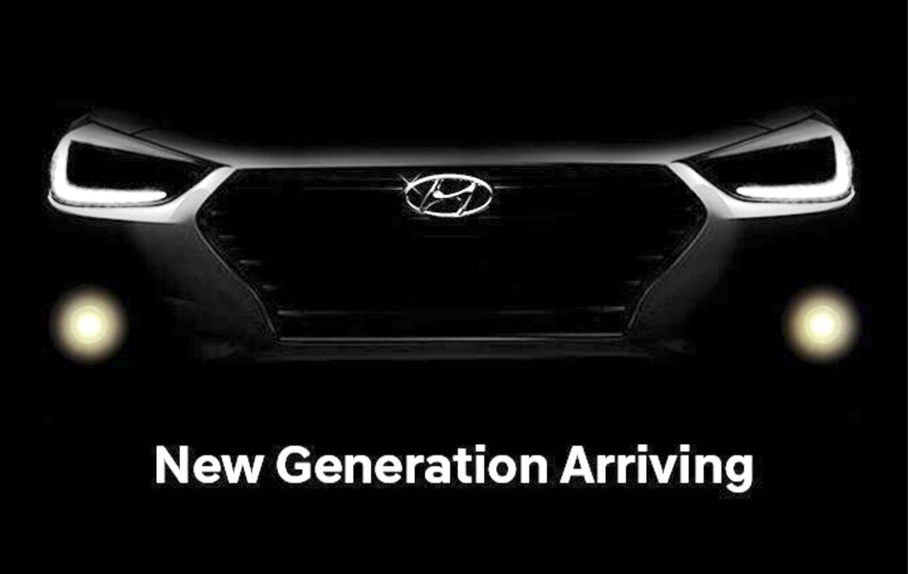 2017 Hyundai Verna teaser surfaces