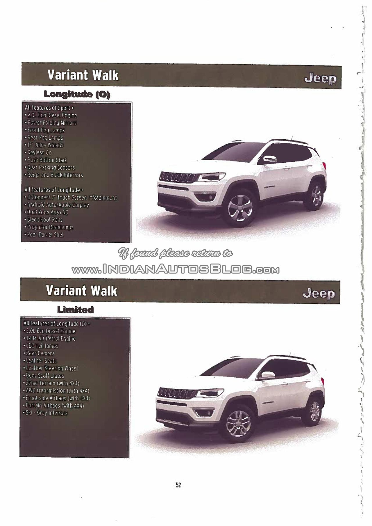 2017 Jeep Compass equipment higlights third image