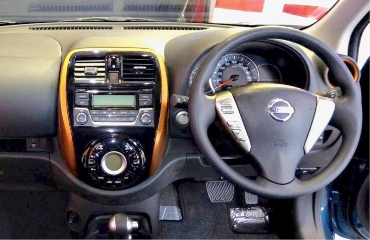 2017 Nissan Micra (facelift) interior launched India