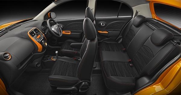 2017 Nissan Micra interior press image