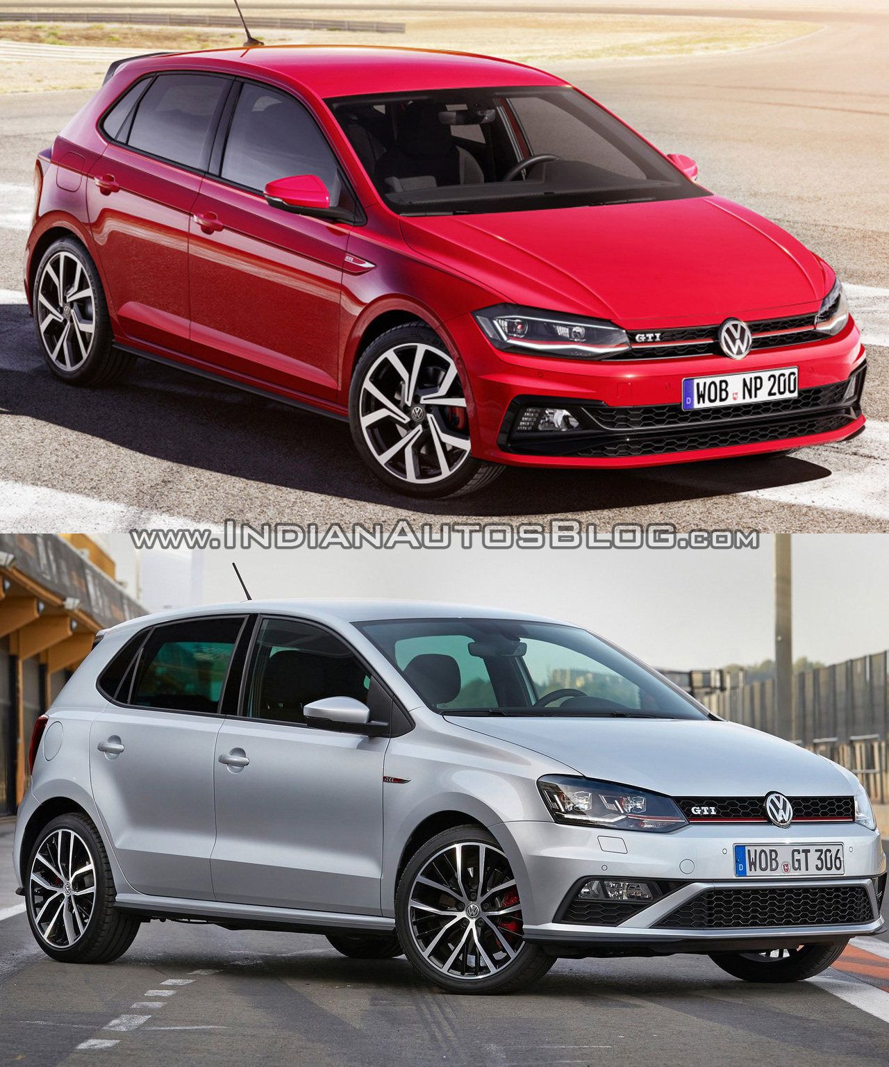 2017 Vw Polo Gti Vs Old Vw Polo Gti
