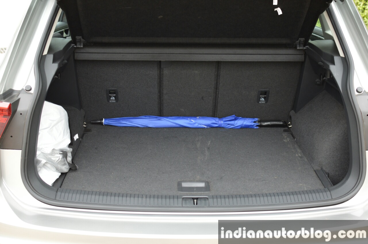 2017 VW Tiguan boot volume First Drive Review