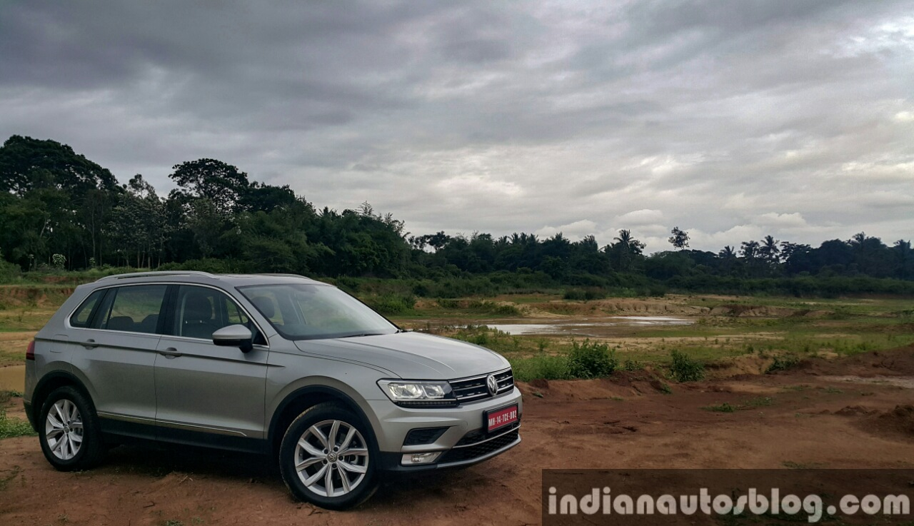 Tucson Dimensions 2017 >> VW Tiguan - First Drive Review