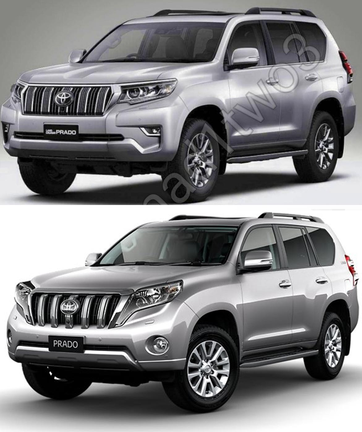 2018 toyota land cruiser prado vs 2014 toyota land. Black Bedroom Furniture Sets. Home Design Ideas