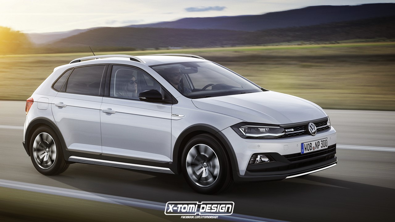 2018 VW Cross Polo rendering